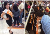 Tenda Hold A Branding Show at Mexico Biggest 3C Shopping Mall